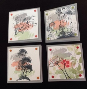 3x3 cards for box