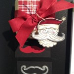 New Mustache Framelit and stamp. I also see a pair of elf shoes here! Do you?