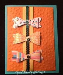 Bow builder punch From the new Occasions Catalog 2015
