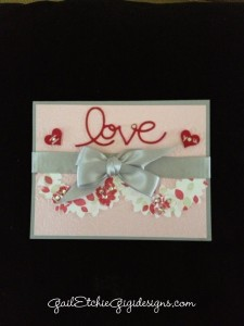 red pink and gray woderous love wreath